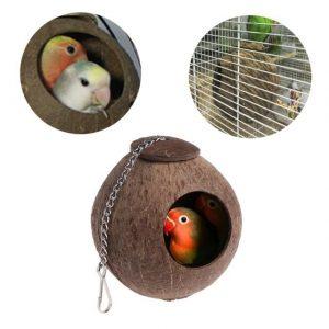 nidos para loros, comprar nidos para loros, nido para cotorros cotorras cacatuas ninfas