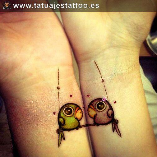 tatuaje de loro, tatuaje de loros, loros tatuados, tattoo