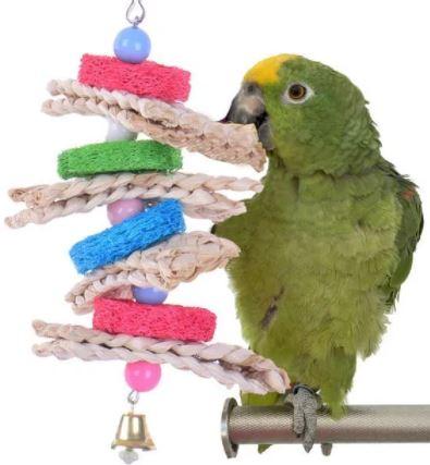 juguetes caseros para periquitos con cuerdas, juguetes caseros para periquitos