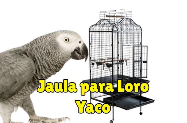 jaulas para yacos, comprar la mejor jaula para loro yaco, jaula para yacos