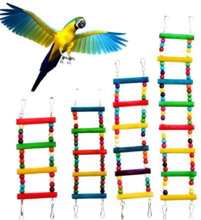 comprar escaleras para loros, escalera para loro, escalera de madera para cotorros y pericos